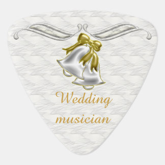 White Wedding Plectrum