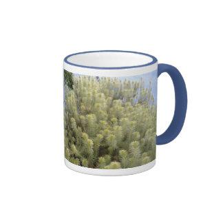 White weeds mug