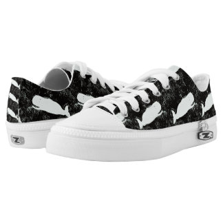 white whales black low tops