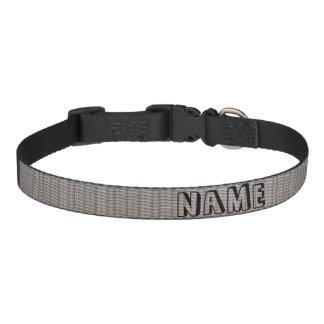 White Wicker Pet Collar