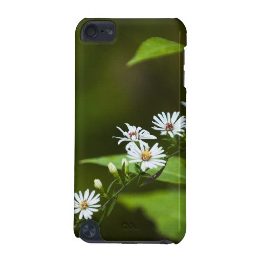 White Wildflower iPod Touch 5G Cases