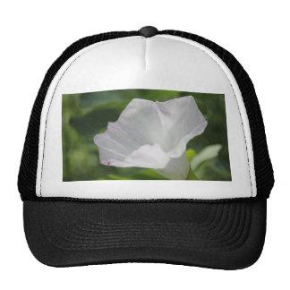 White Wildflower Trucker Hats