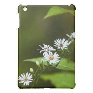 White Wildflower iPad Mini Covers