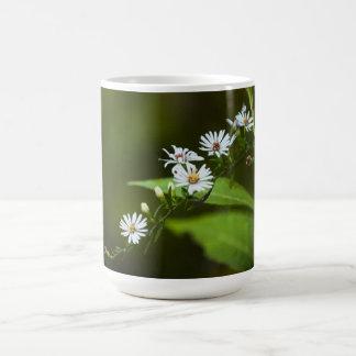 White Wildflower Mug