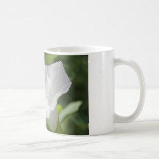 White Wildflower Mugs