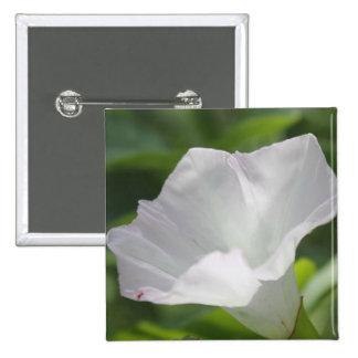 White Wildflower Pins
