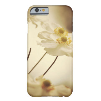 White Wildflowers Barely There iPhone 6 Case