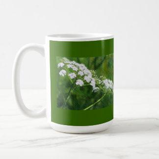White Wildflowers Mug