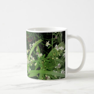 White Wildflowers Classic White Coffee Mug
