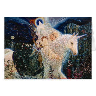 White Wind - Messenger of Love by Elizabeth Kyle Greeting Card