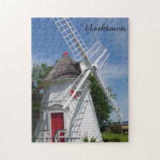 White Windmill Jigsaw Puzzle