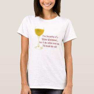White Wine Christmas T-Shirt