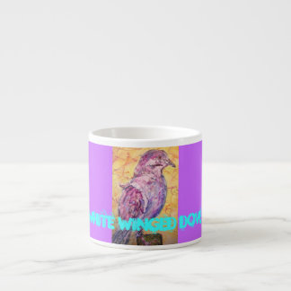 White-winged Dove art Espresso Mug