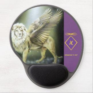 White Winged Lion Mousepad
