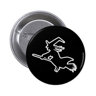 White Witch 6 Cm Round Badge