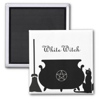 White Witch Refrigerator Magnets