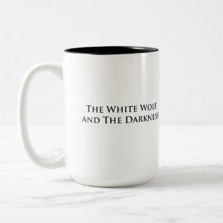 White Wolf and The Darkness mug