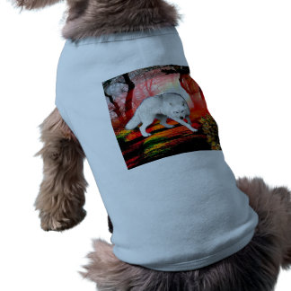 White wolf - arctic wolf - american wolf shirt