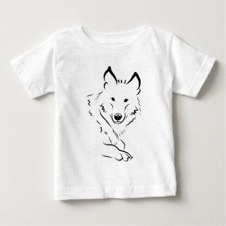 White Wolf Baby T-Shirt