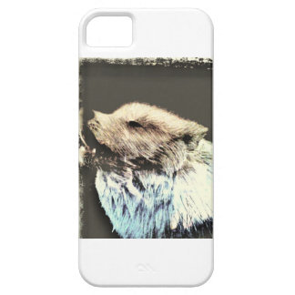 White Wolf Barely There iPhone 5 Case