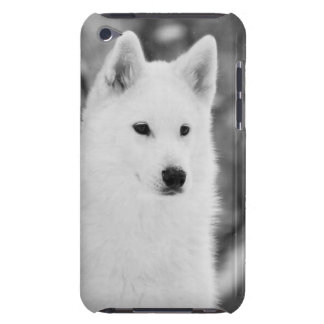 White Wolf iPod Touch Case-Mate Case