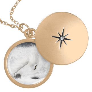 White Wolf Locket