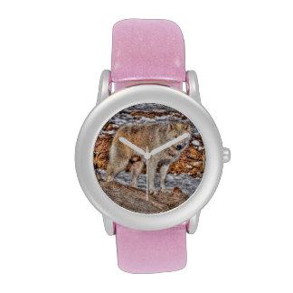 White Wolf Nature and Wildlife Design Wristwatches