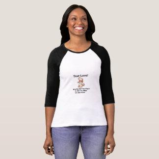 White Women's T-Shirt 3/4 Sleeve