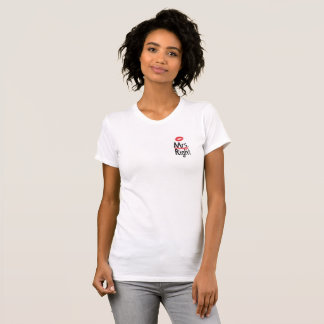 White Women's T-shirt Mrs. always right