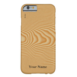 White wood veined pattern barely there iPhone 6 case