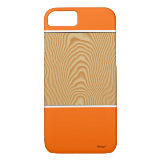 White wood veined pattern iPhone 8/7 case