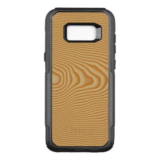 White wood veined pattern OtterBox commuter samsung galaxy s8+ case