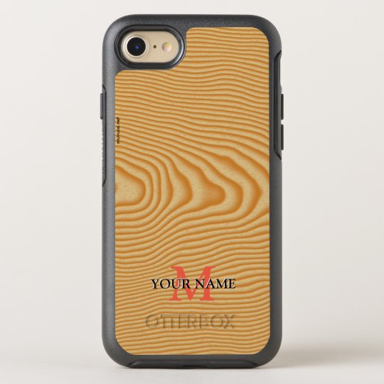 White wood veined pattern OtterBox symmetry iPhone 8/7 case