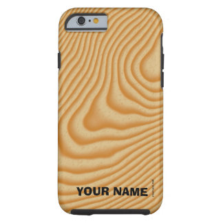 White wood veined pattern tough iPhone 6 case