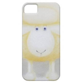 White Woolly Sheep For Ewe iPhone 5 Case