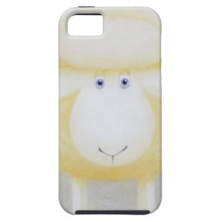 White Woolly Sheep For Ewe iPhone 5 Cover