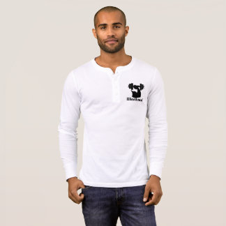 White Workout long mango T-Shirt