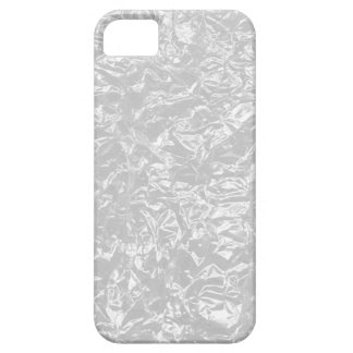 white wrinkle foil iPhone 5 cases
