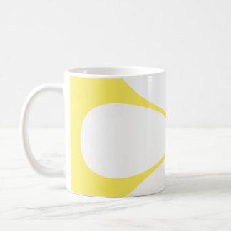 White Yellow Daisy Flower Coffee Mug