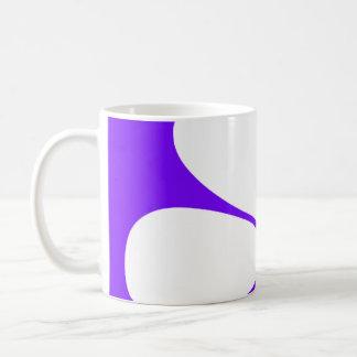 White & Yellow Daisy Flower on Violet Purple Mug