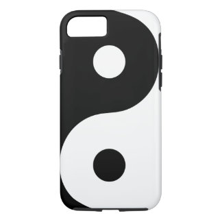White Yin Yang Phone Case