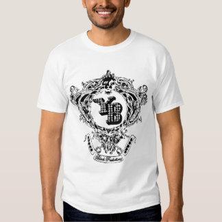 White Young Black Logo T Shirts