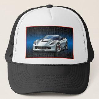 White_Z06 Trucker Hat