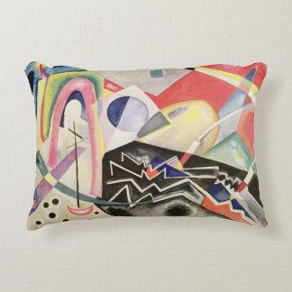 White Zig-Zags, 1922 Decorative Cushion