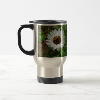 White Zulu prince Daisy Travel Mug