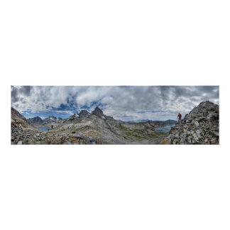 Whitebark Pass Nydiver to Garnet Lake - Sierra Poster