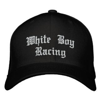 WhiteBoy Racing Embroidered Hat