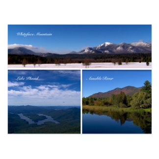 Whiteface Mountain-Lake Placid Postcard