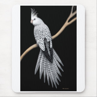Whitefaced Pearl Cockatiel Mousepad