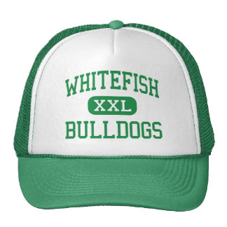 Whitefish - Bulldogs - High - Whitefish Montana Cap